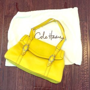 Canary Yellow Cole Haan Purse